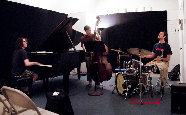 Dan Weiss Trio with Jacob Sacks and Thomas Morgan - Center for Improvisational Music 2006