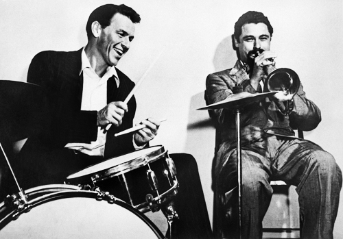 Shorty Rogers And Frank Sinatra