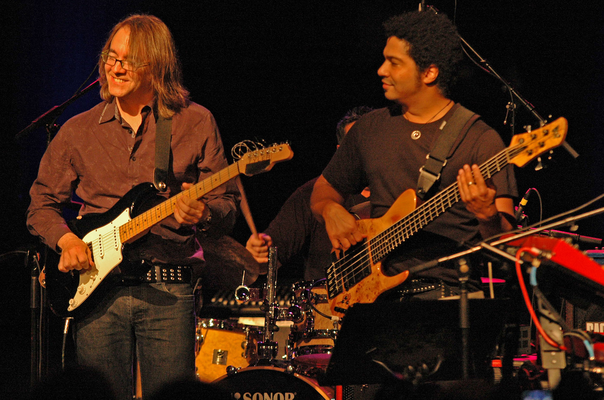 Wayne Krantz and Matthew Garrison, Performing with Ranjit Barot at the New Universe Music Festival 2010