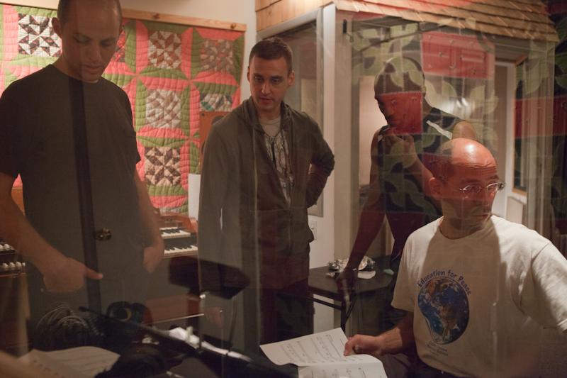 Ricky Sweum in Studio