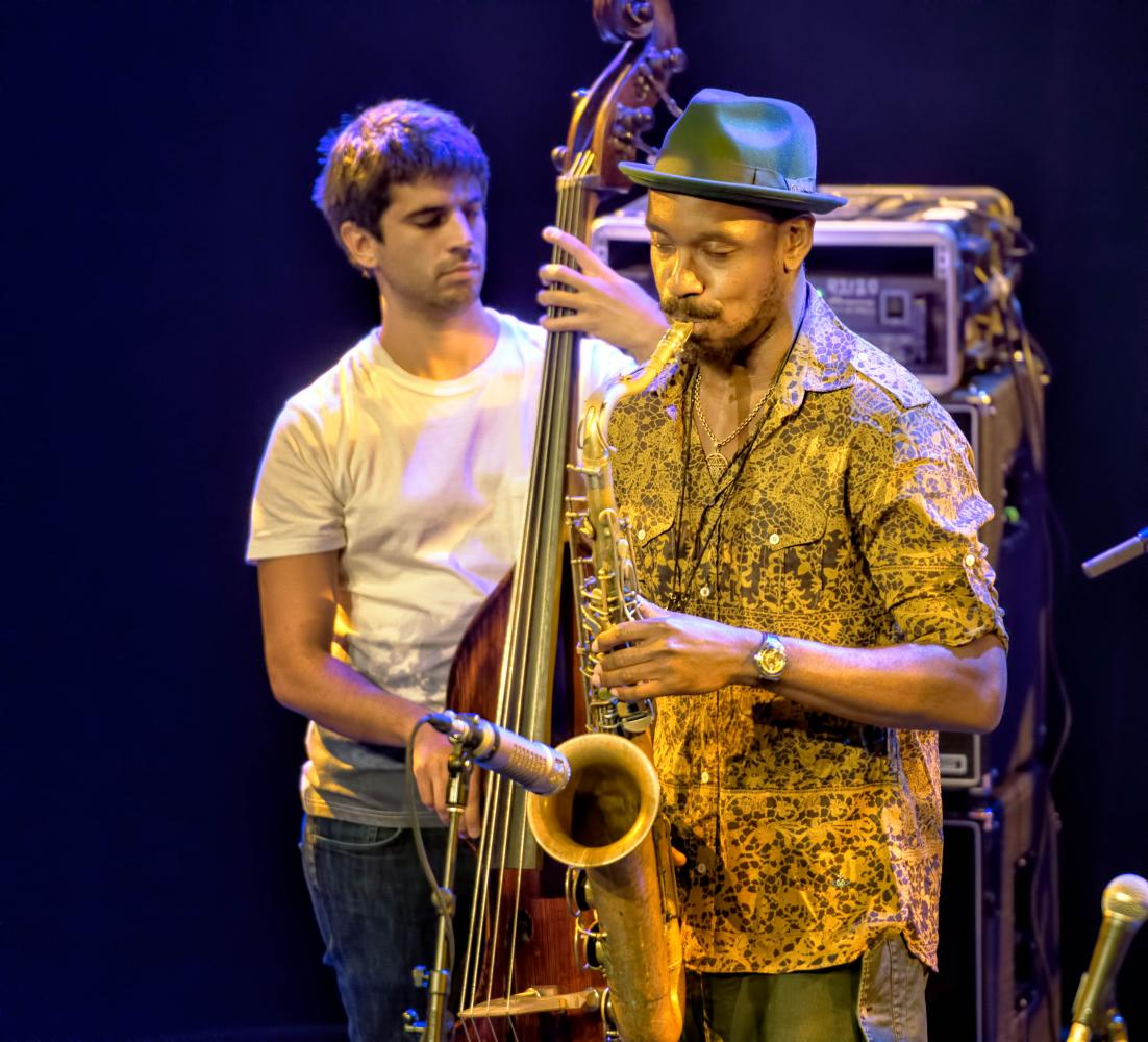 Ariel Zamonsky and Shabaka Hutchings with Shabaka and the Ancestors at The Montreal International Jazz Festival 2017
