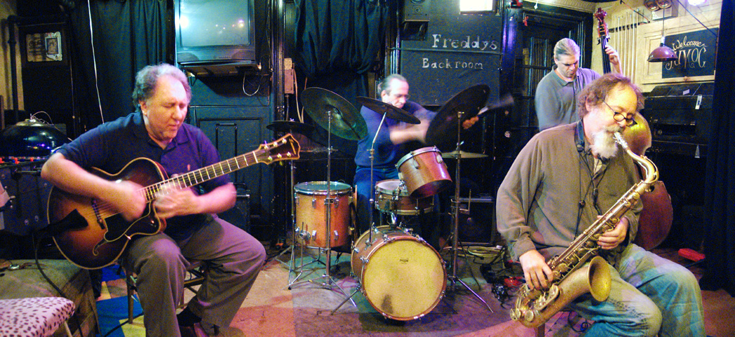Dom Minasi Trio with Ken Filiano, Jackson Krall and Special Guest Blaise Siwula - Freddy's Backroom 2005