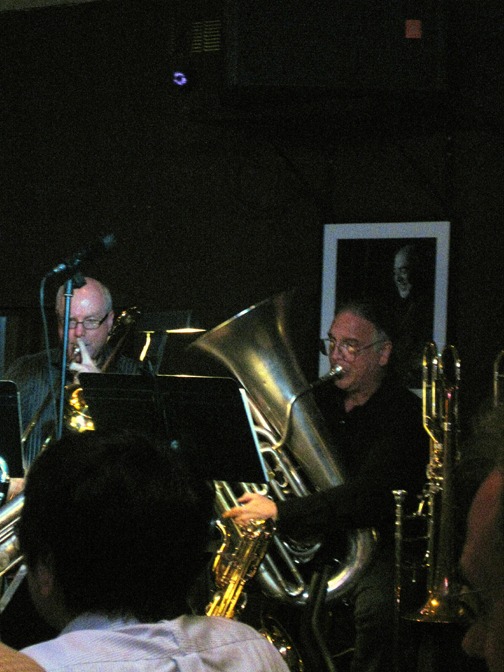 Alex Iles Trombone, Bill Reichenbach, Tuba