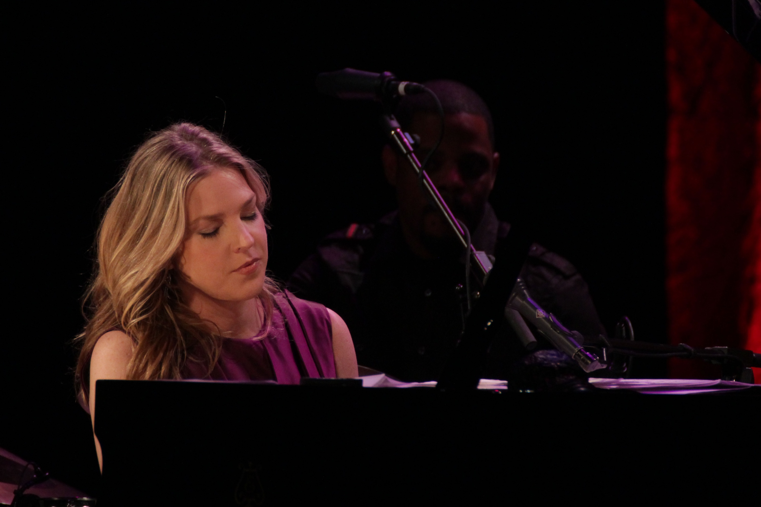 Diana Krall at Tri-C Jazzfest Cleveland 2012