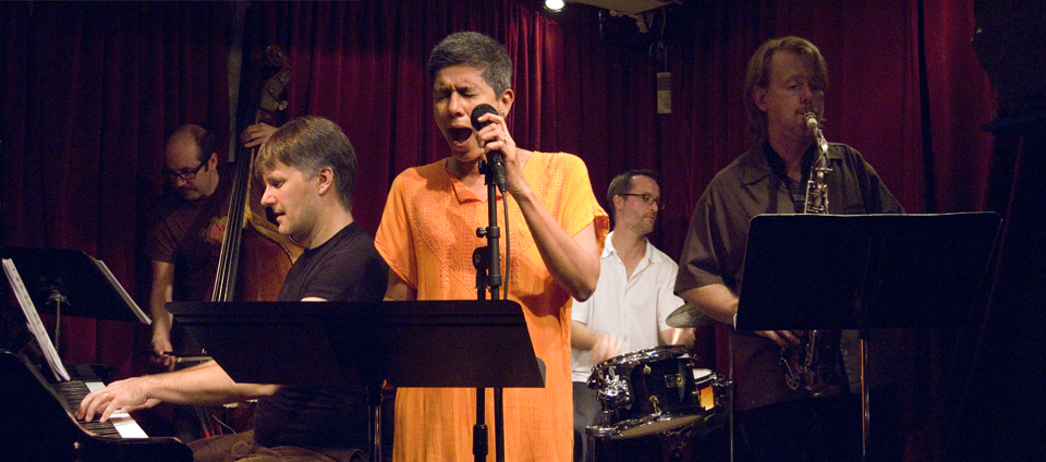 Frank Carlberg Quintet with Christine Correa, John Hebert, Michael Sarin and John O'Gallagher - Cornelia St 2007