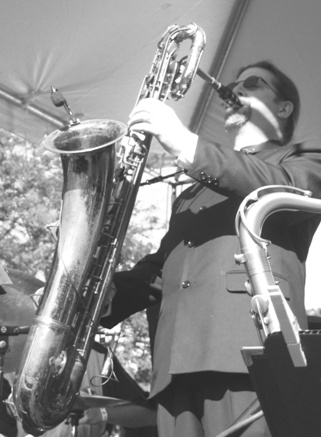 2007 Chicago Jazz Festival, Saturday: Ted Hogarth Led the Excellent, Very Tight, Mulligan Mosaics Big Band