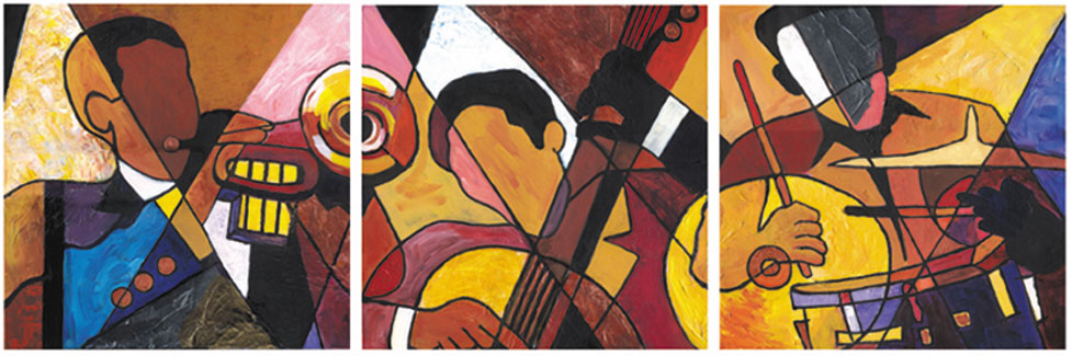 Trip Trio by Everett Spruill
