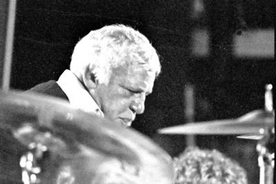 Buddy Rich 0429832 Lewisham Jazz Fest., Lewisham, London. 1986 Images of Jazz