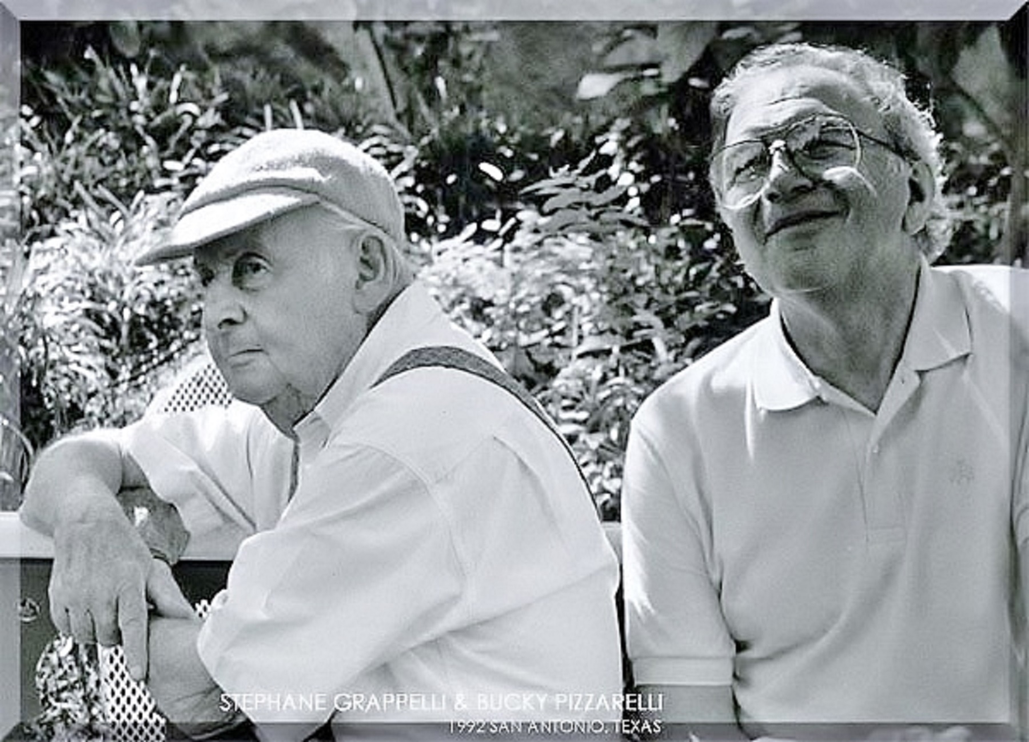 Bucky Pizzarelli and Stephane Grappelli