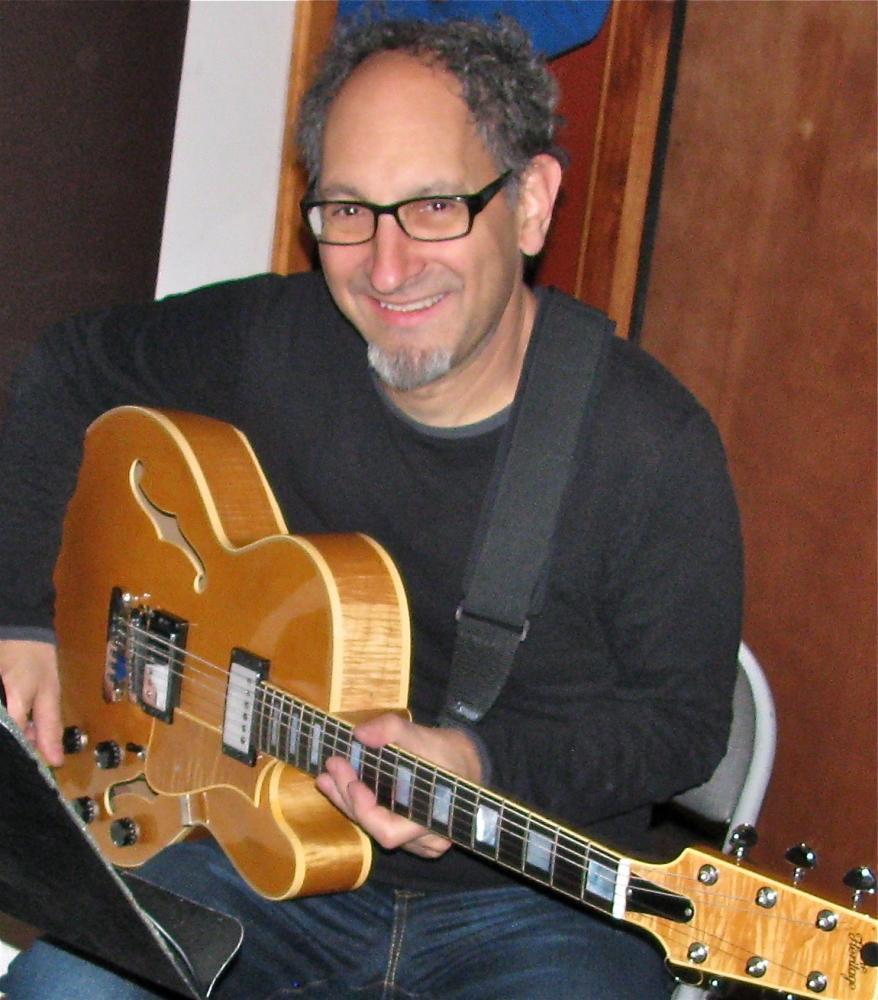 Dan Sawyer in recording studio