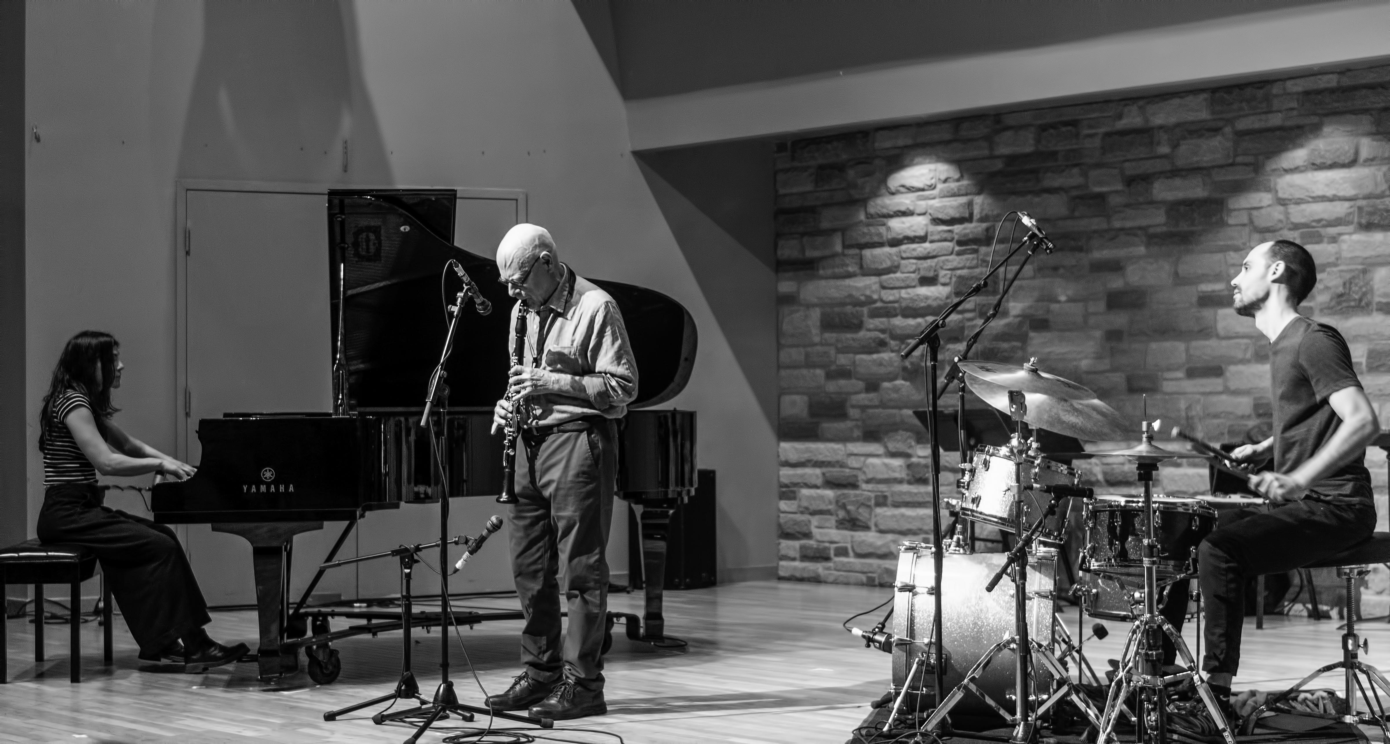 Paula Shocron, Guillermo Gregorio and Pablo Diaz with Dialogos at the Guelph Jazz Festival 2019