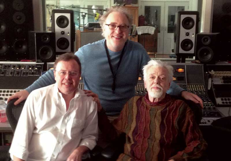 Bob Merrill, Russ Gershon, and Roswell Rudd