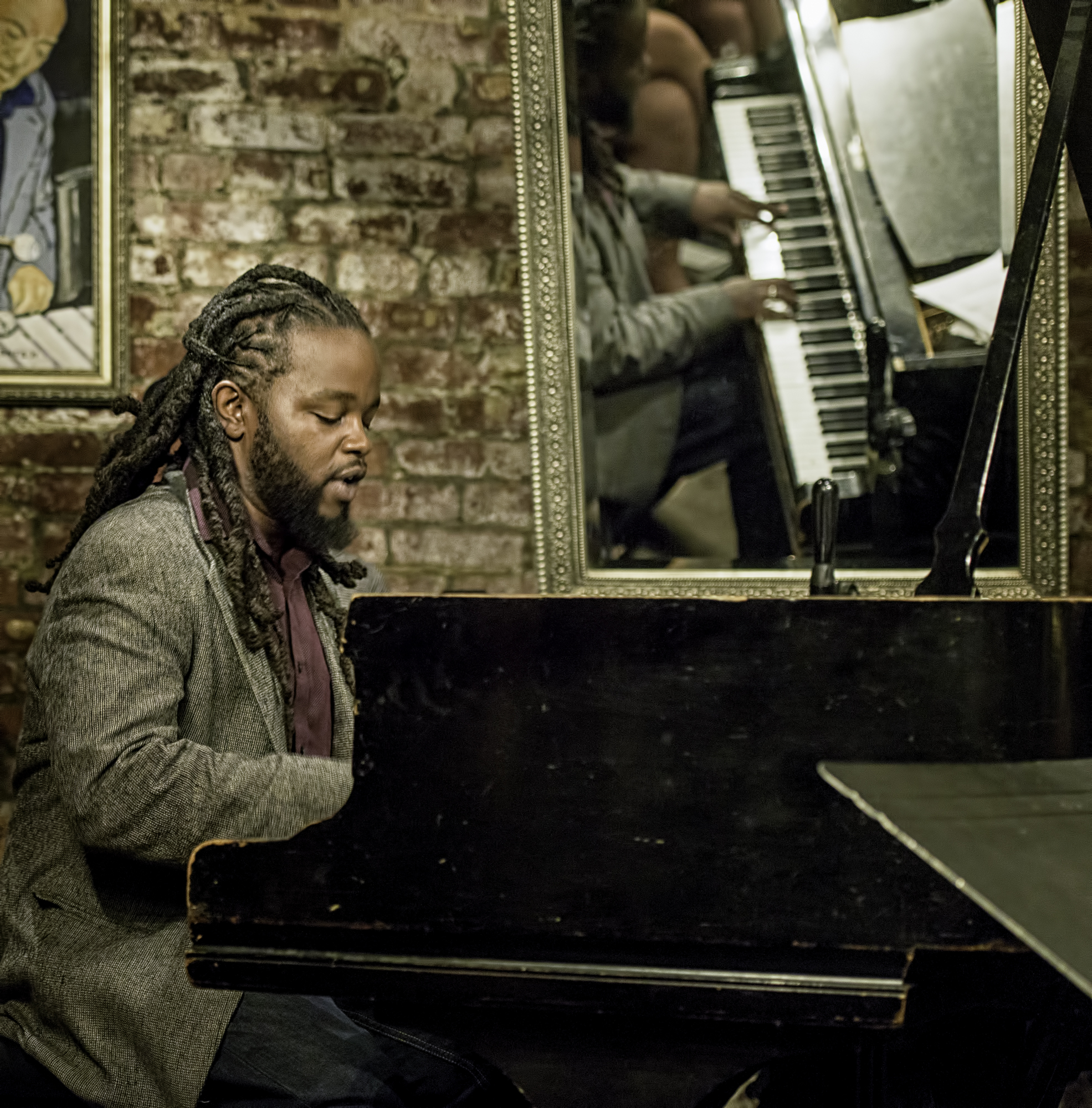 Victor Gould with the Eric Wyatt Quartet at Smalls Jazz Club