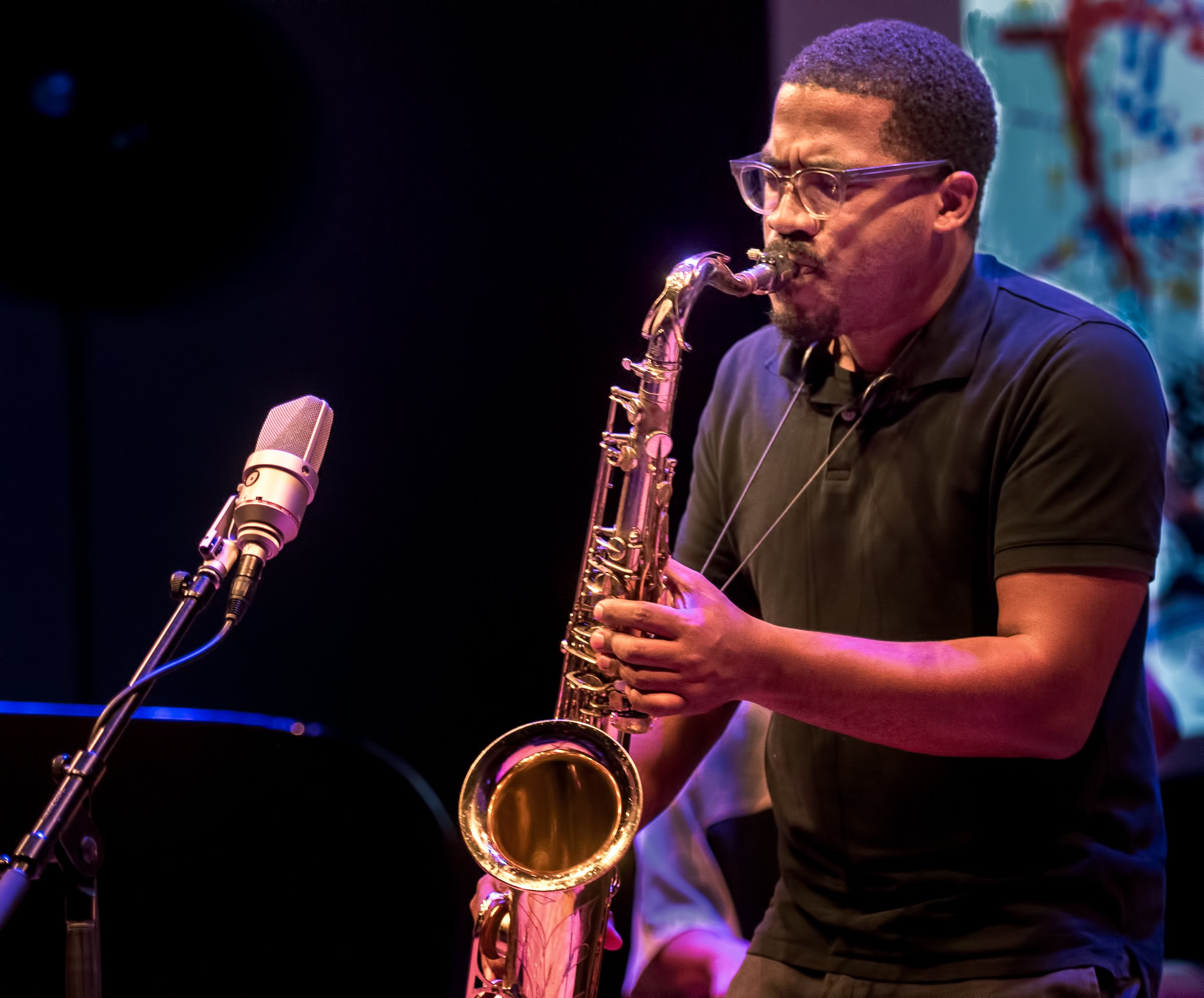 James Brandon Lewis with the Dave Burrell Quintet At the Vision Festival 2018