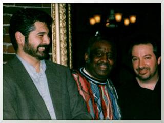 Tony Pacini, Bernard Purdie, Phil Baker.