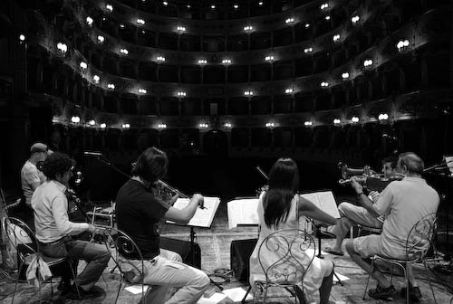 Paolo Fresu &Quot;Scores!&Quot; with Alborada String Quartet &Amp; Diederik Wissels &Amp; Dhafer Youssef, Uj07