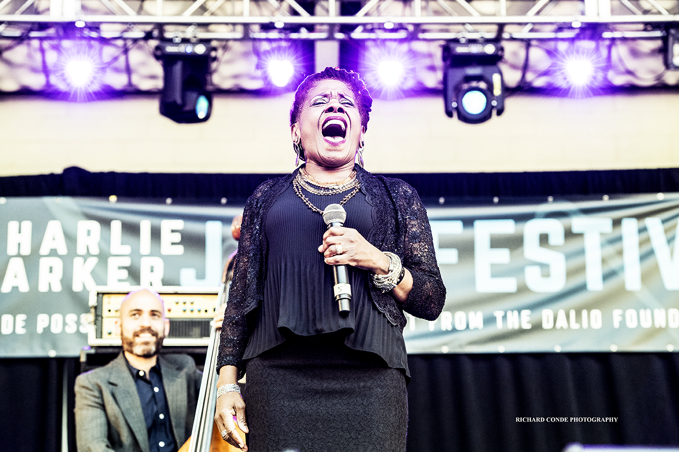 Catherine Russell at the 2018 Charlie Parker Jazz Festival