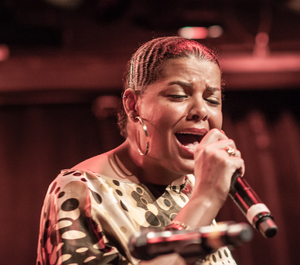 Christelle Durandy with Celebrate Great Women of Blues & Jazz at le Poisson Rouge at Winter Jazzfest 2013
