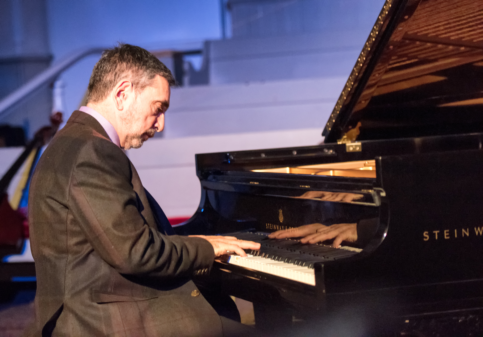 Mike Ledonne at Jazz Legends Play for Disability Pride at Nyc Winter Jazzfest 2015