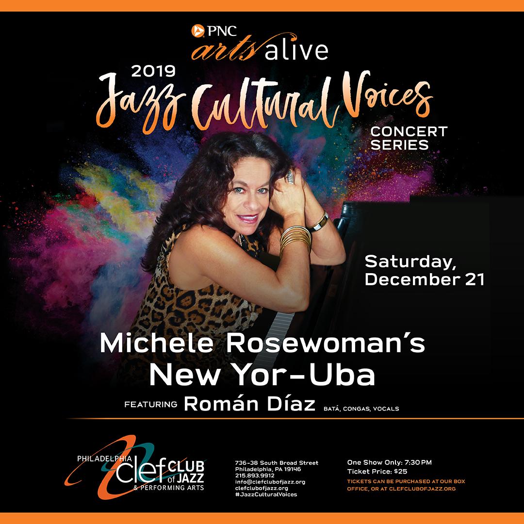 Michelle Rosewoman's New Yo-Ruba, Feat. Roman Diaz