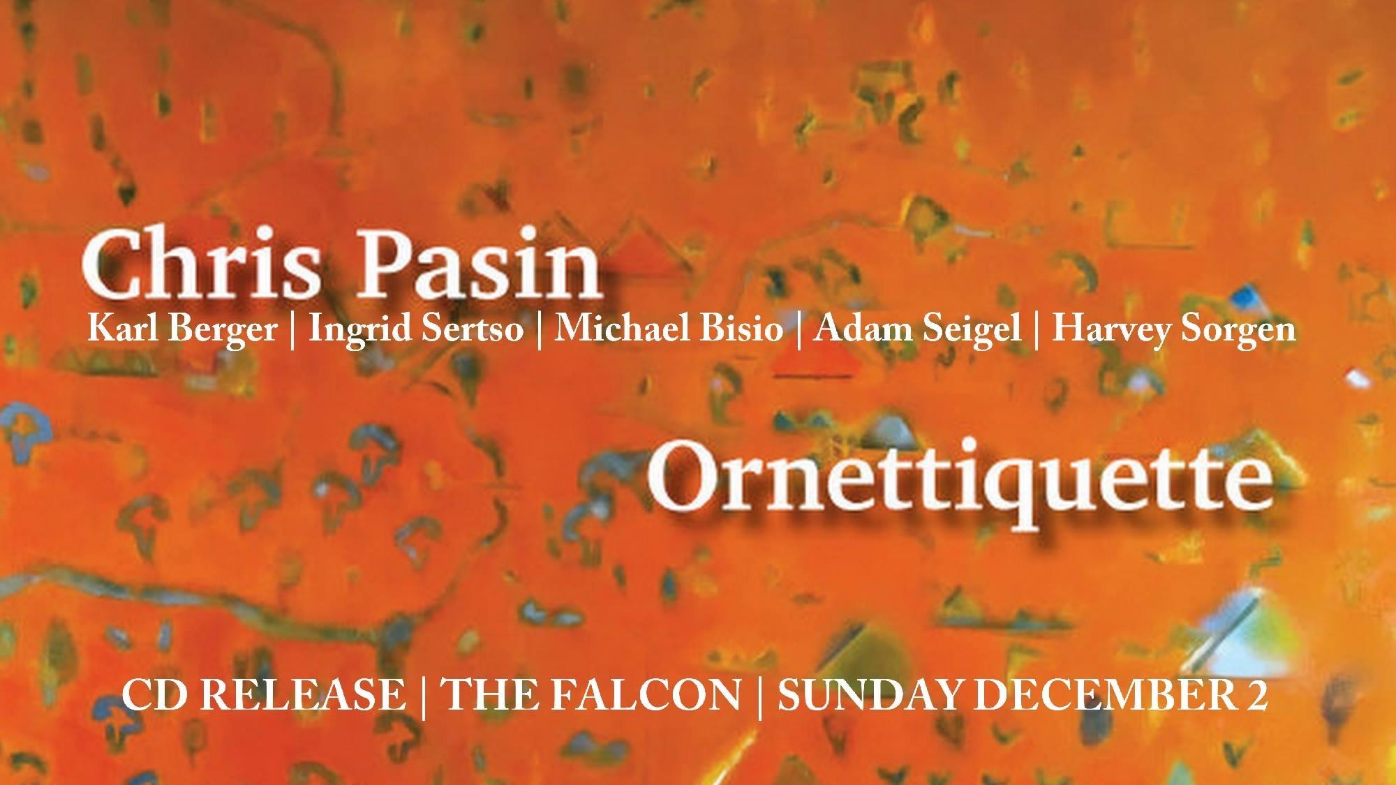 Ornettiquette CD Release Show