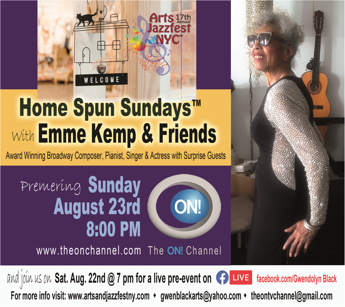 Home Spun Sundays™ with Emme Kemp and Special Friends