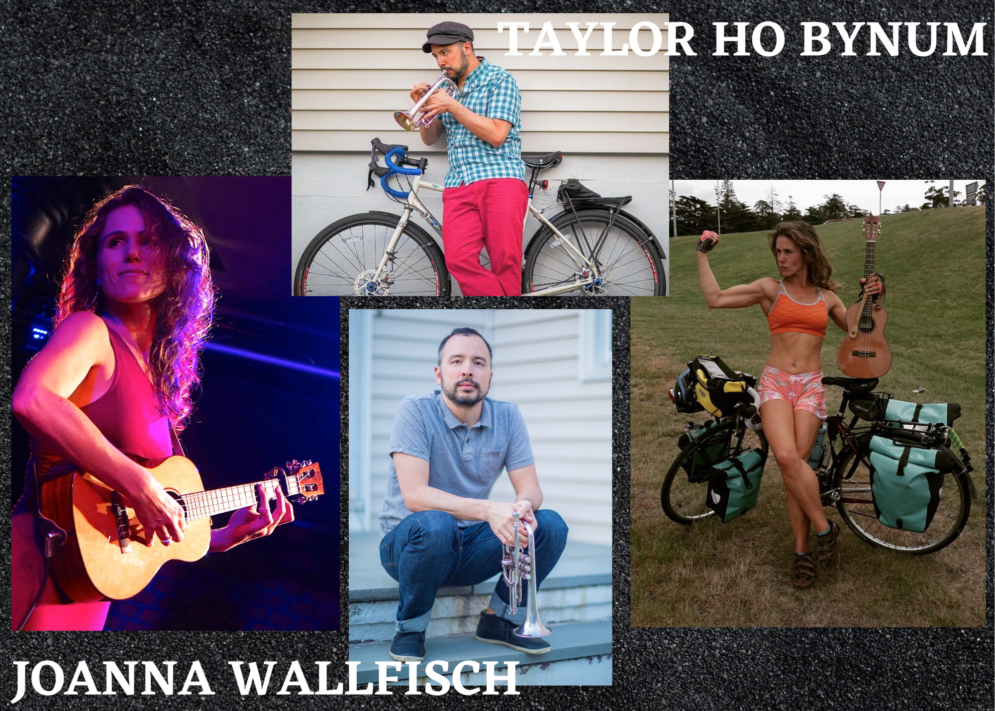 Joanna Wallfisch & Taylor Ho Bynum: Music, Bicycles, Talk And Documentaries!