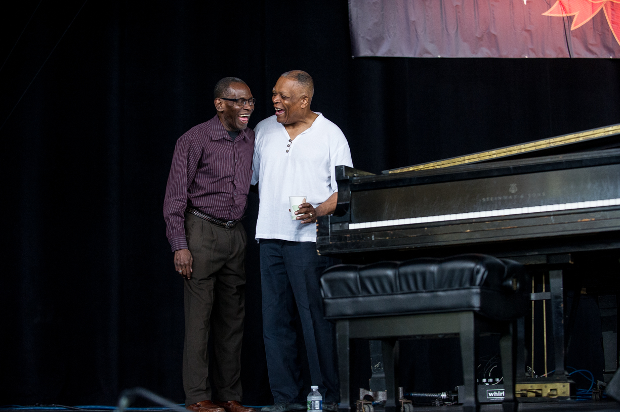 George cables and billy hart at the saratoga jazz festival 2013