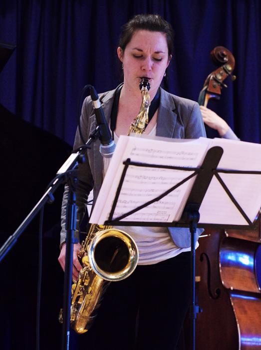 Trish Clowes, Glue, Watermill Jazz Club