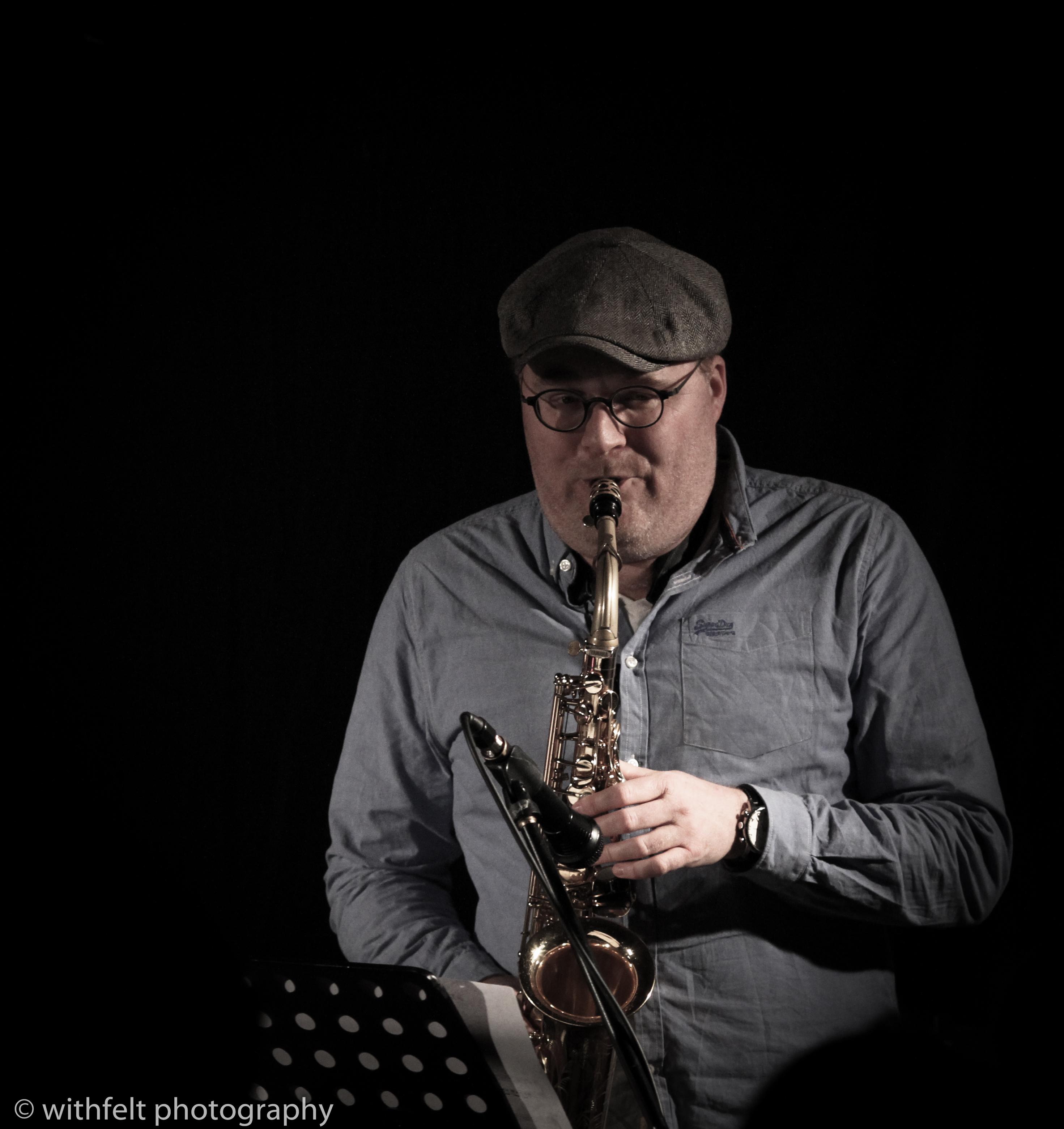 Benjamin Koppel, (sax) at Winter Jazz 2016, Copenhagen, Denmark