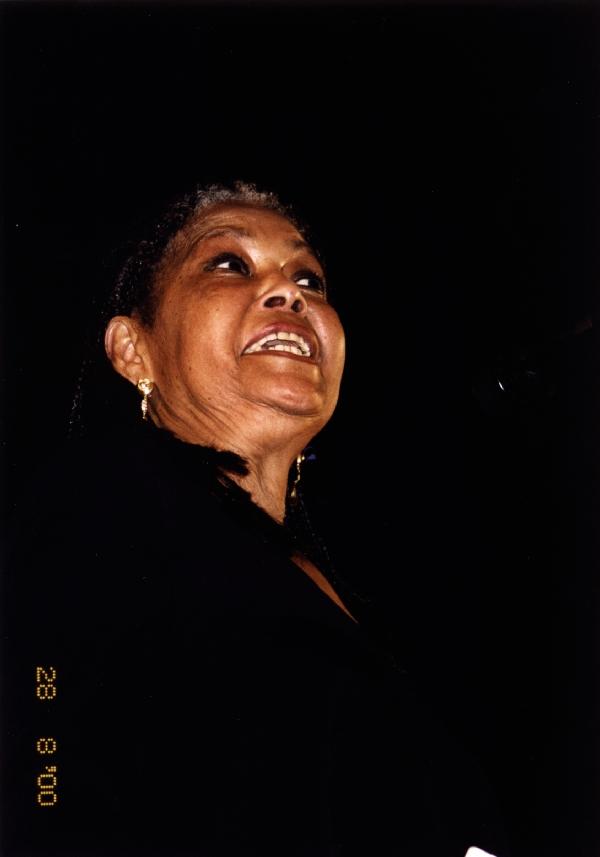 2000-08-28 Abbey Lincoln, Red Sea Jazz Festival, Eilat, Israel