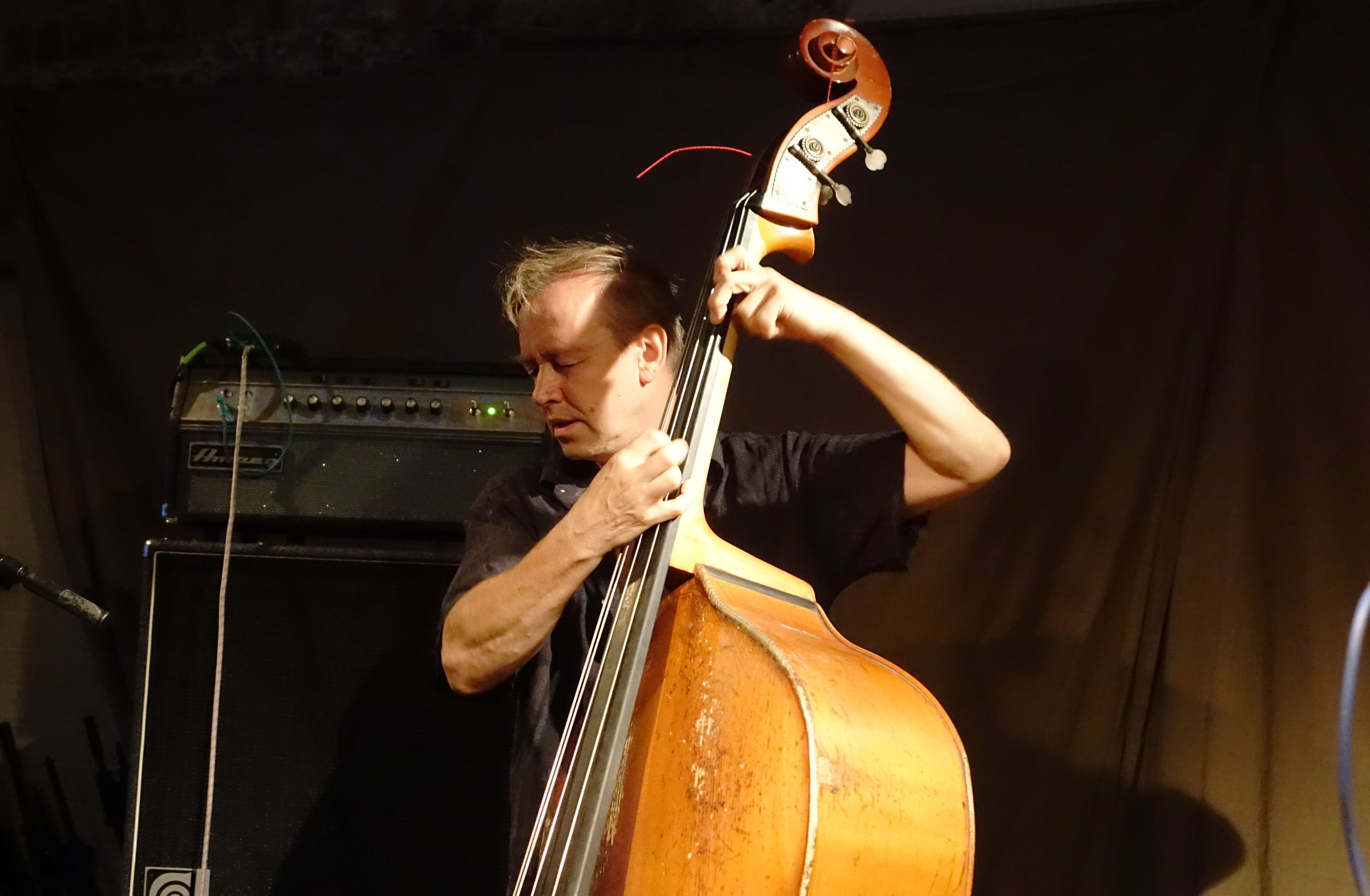 John Edwards at Cafe Oto, London in August 2018