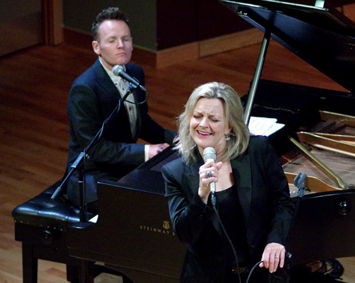 Joe Stilgoe and Claire Martin, the Birley Centre, Eastbourne, East Sussex, uk