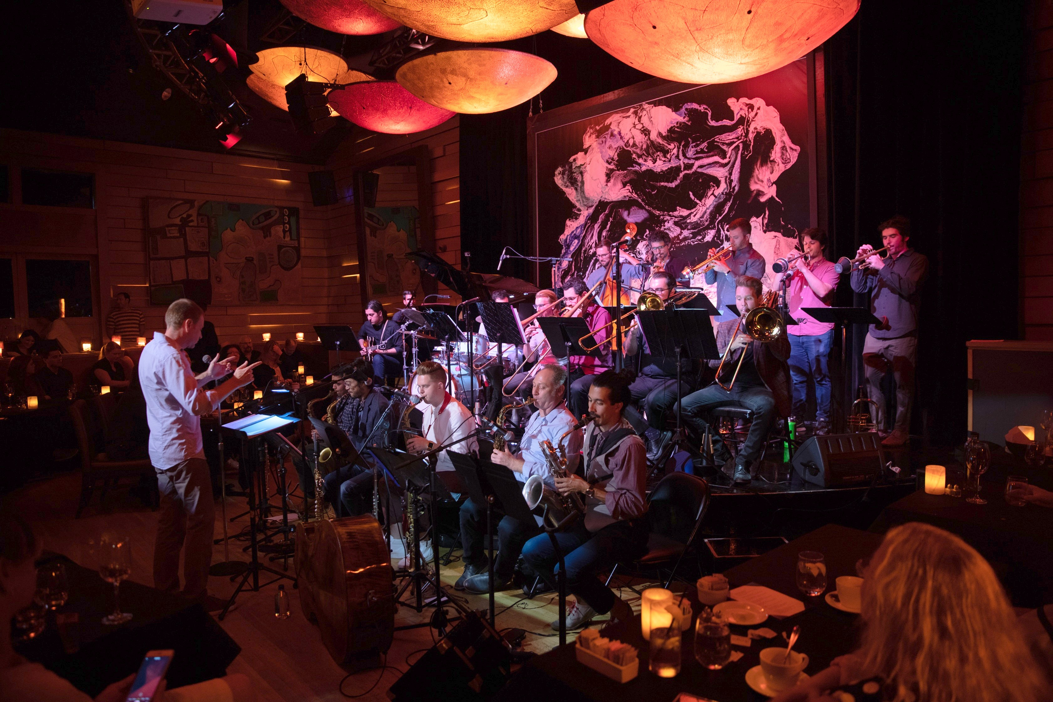 Igor Kogan Big Band at Herb Alpert's Vibrato