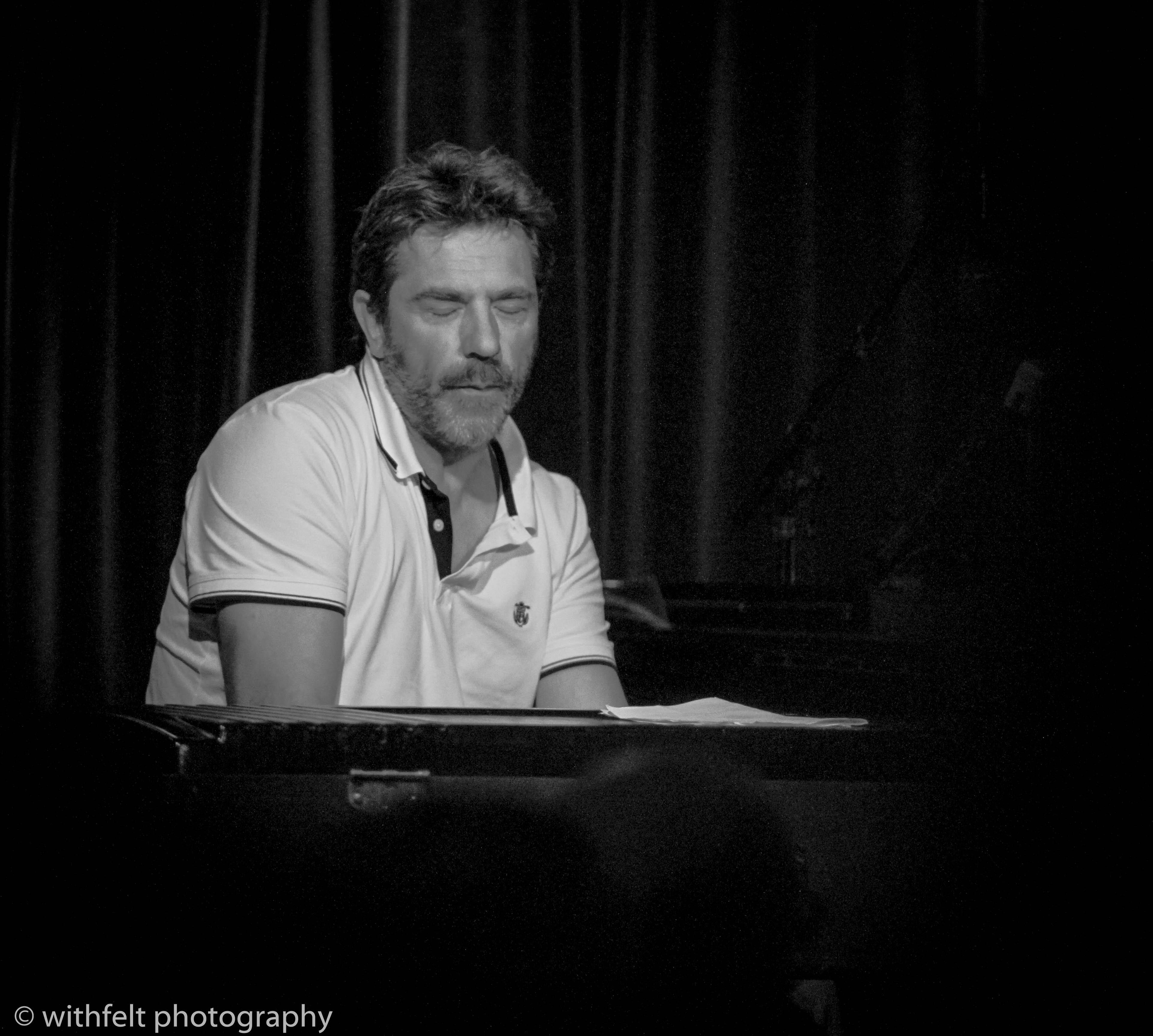Carsten Dahl ( Riel / Mikkelborg / Stief / Dahl ) at Jazzhus Montmartre in Copenhagen, Denmark 25.08.2018