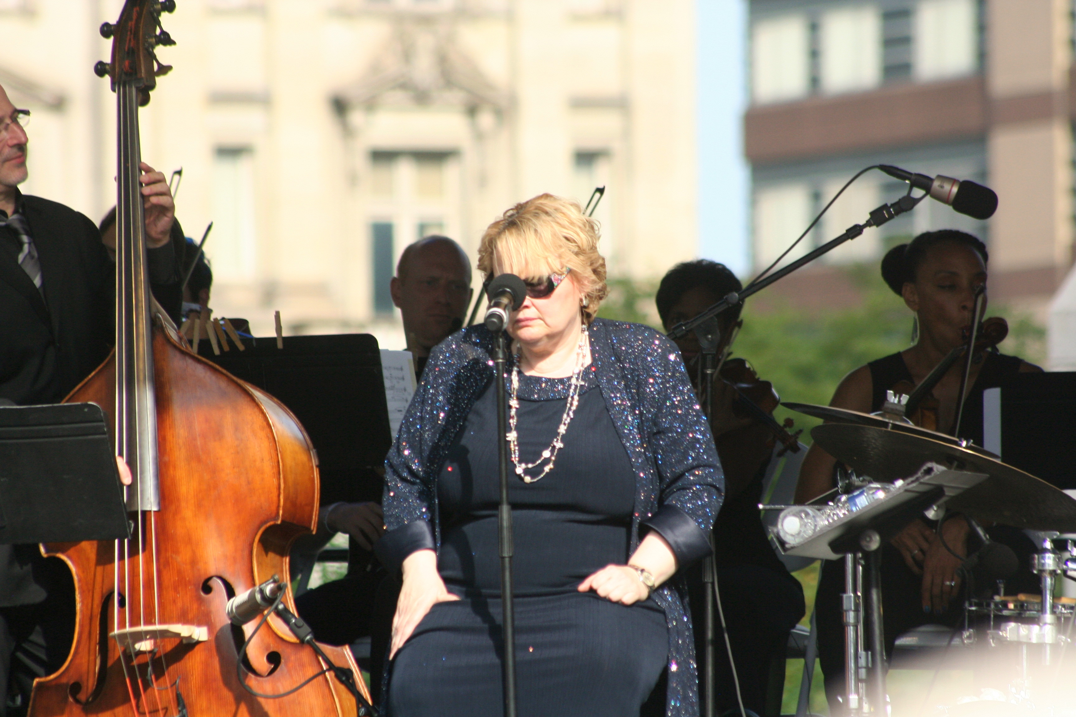 Diane Schuur @ 2014 Detroit Jazzfest