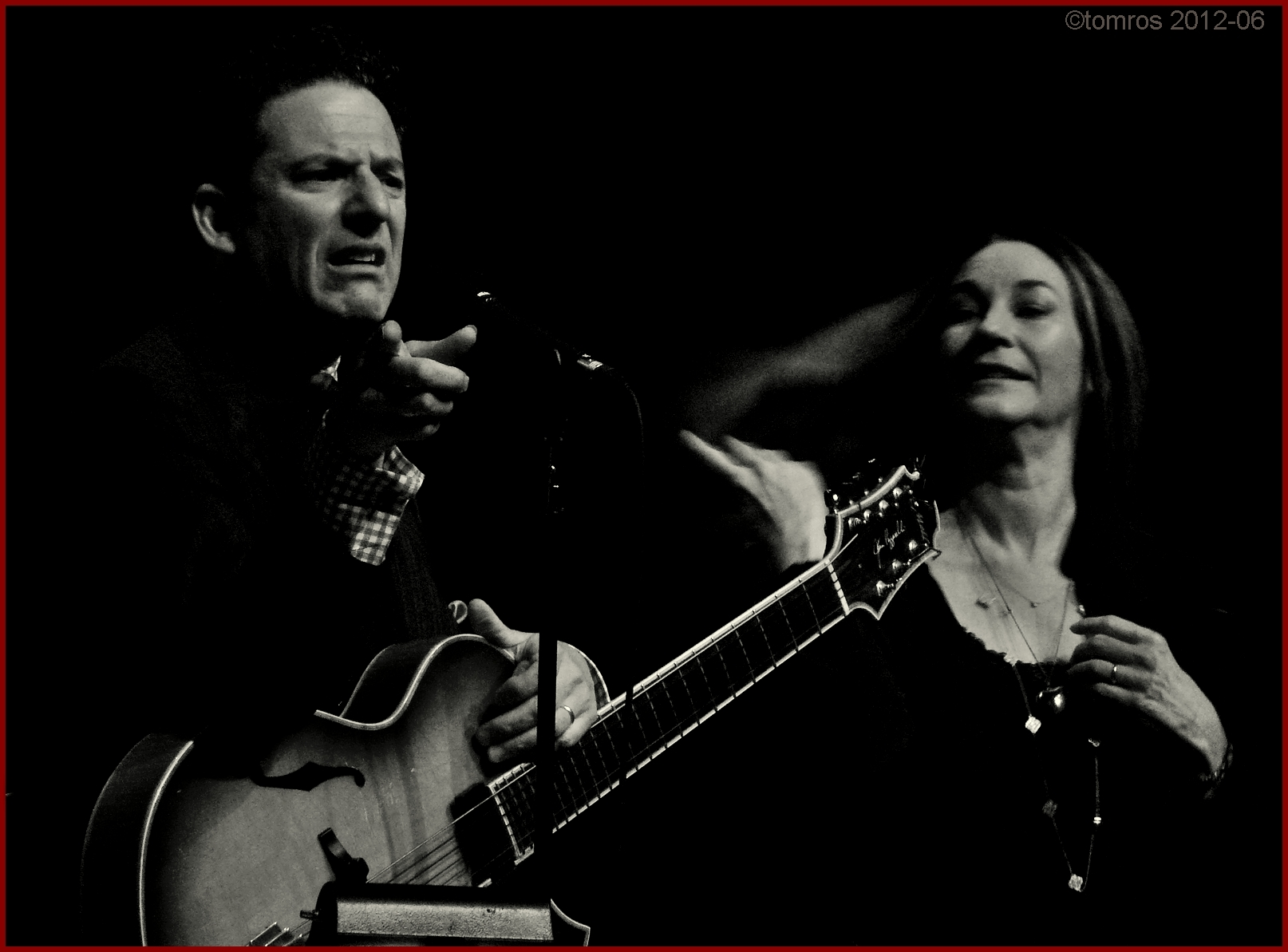 John Pizzarelli & Jessica Molaskey at Koerner Hall, June, 2012