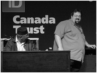 Jimmy McGriff with Joey Defrancesco, Toronto 2004