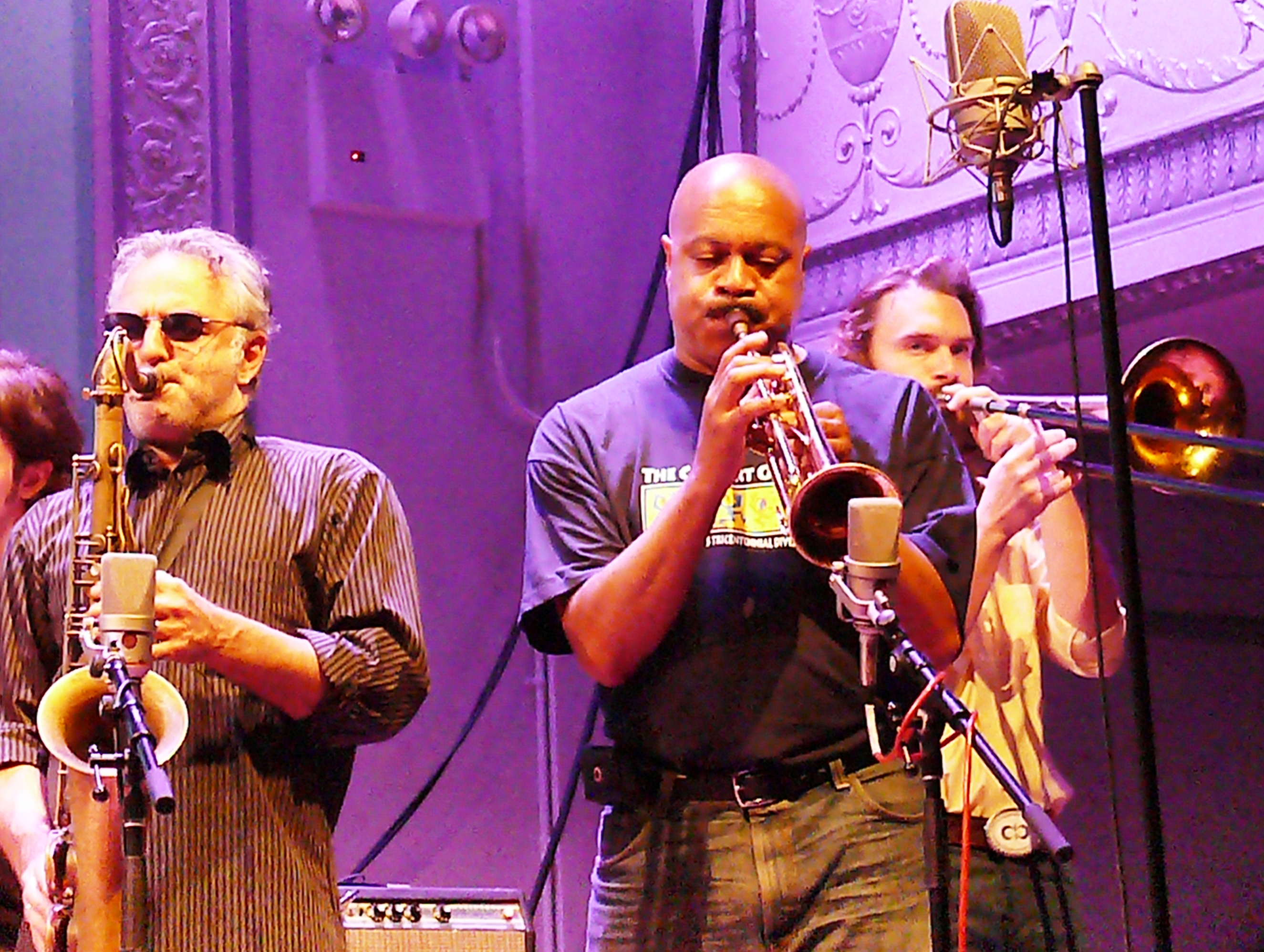 Avram Fefer And Lewis Barnes At The Vision Festival In June 2012