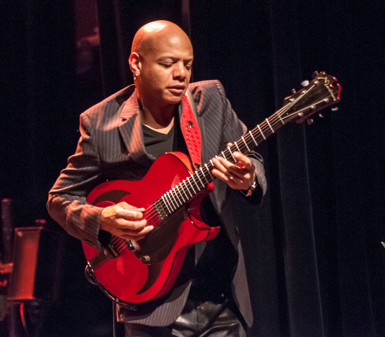 Mark Whitfield with the James Carter Organ Trio at the Montreal International Jazz Festival
