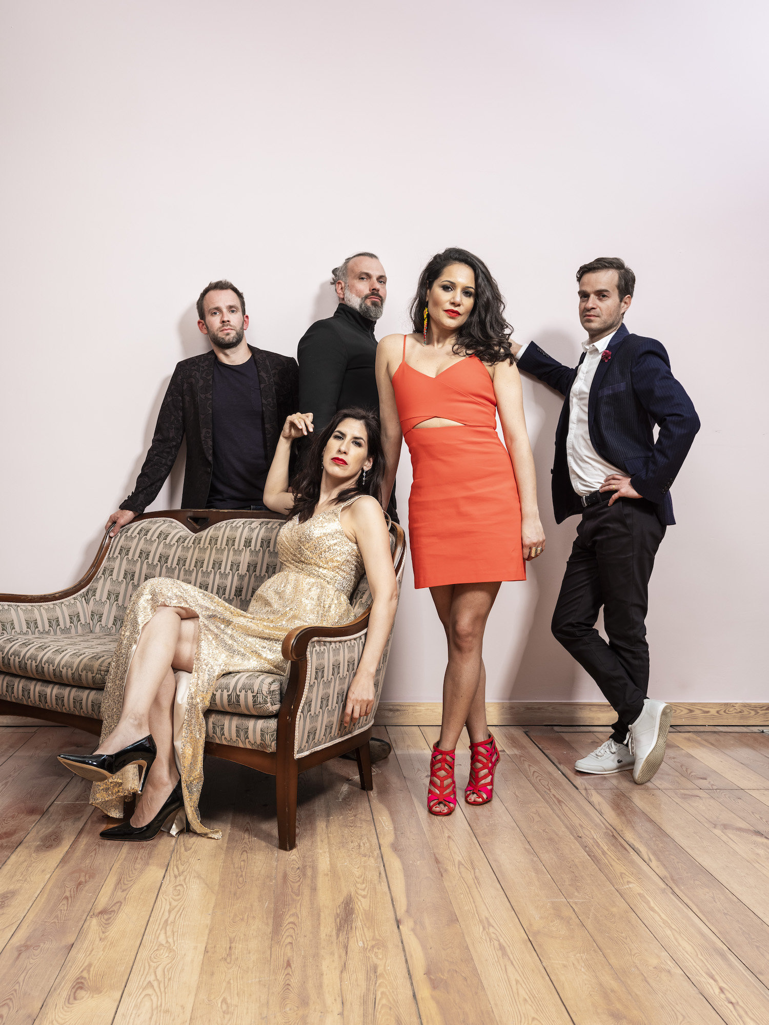 Internationally Acclaimed Emoción Makes Their U.S. Debut at Dizzy's Club Coca-Cola On July 10th