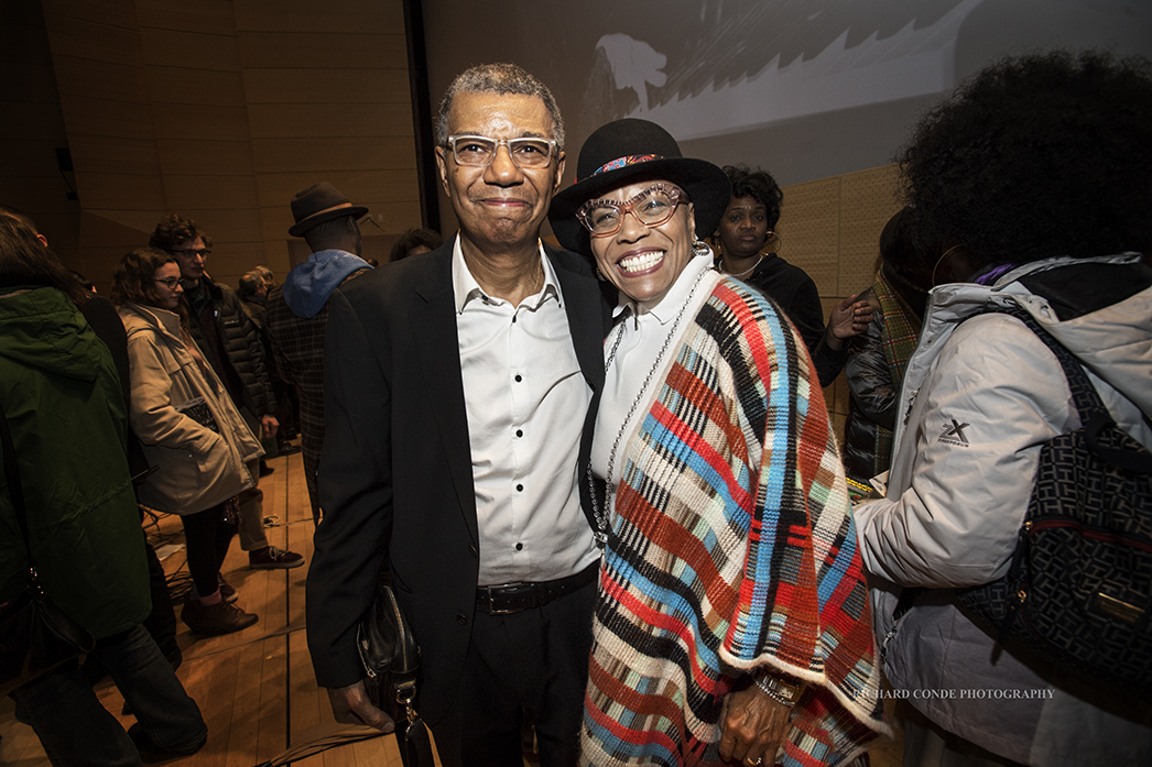 Dee Dee Bridgewater and Jack Dejohnette at the 2018 Winter Jazz Festival2018 Winter Jazz Festival
