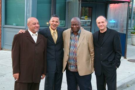 Roberto Magris in Kansas City with Art Davis, Paul Collins, Jimmy Junebug Jackson