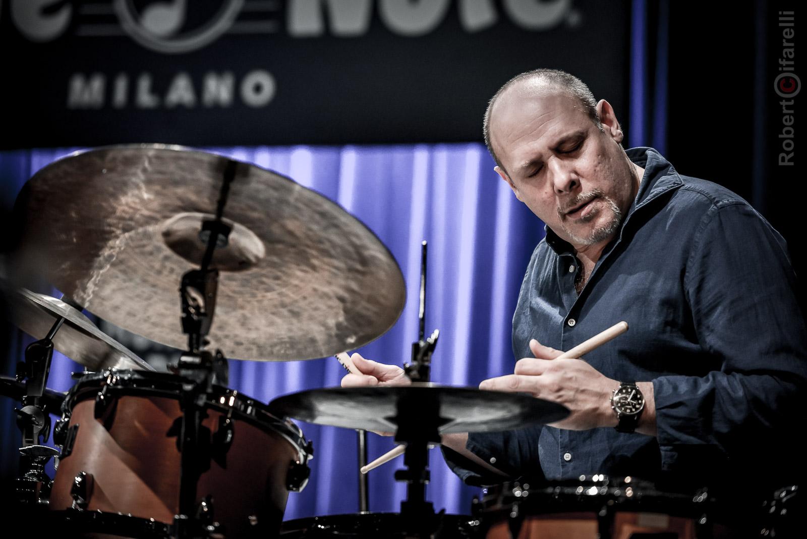Jeff Ballard Fly Trio At Bluenote In Milan