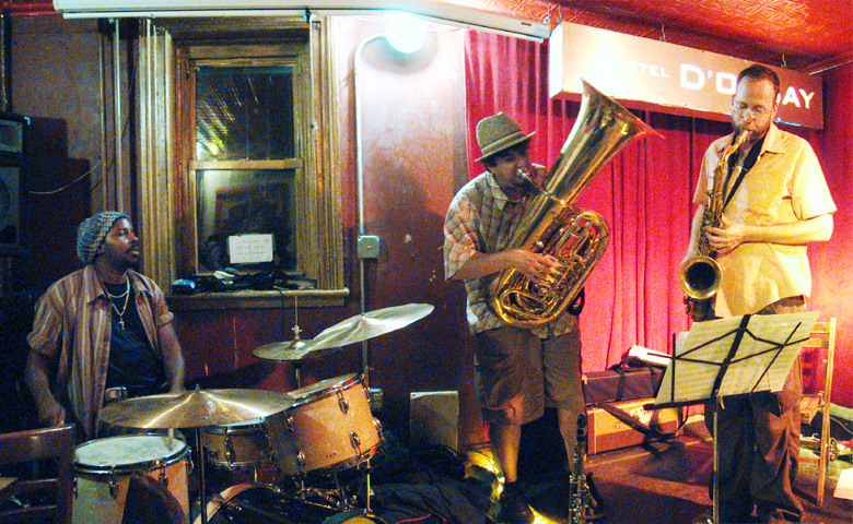 Michael Blake's Hellbent with Marcus Rojas and Calvin Weston - Barbs 2006