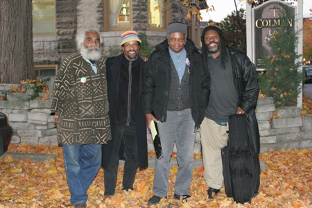 Aaron Ibn Pori Pitts, Avreeayl Ra, Henry Grimes and Andrew Lamp; October 2005