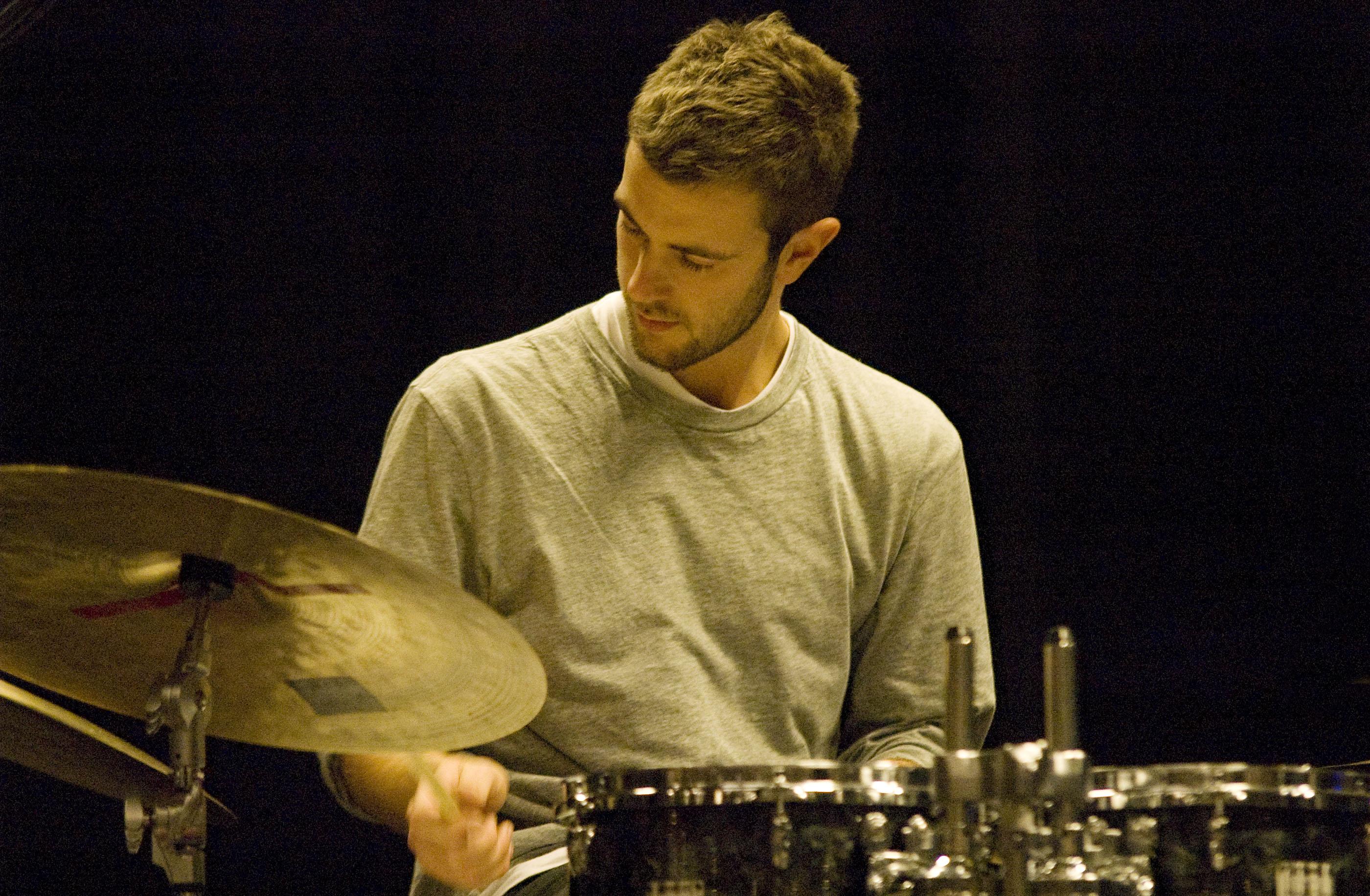 Duncan Bellamy of Portico Quartet, L'Astral, Montreal, Canada 10/02/2010