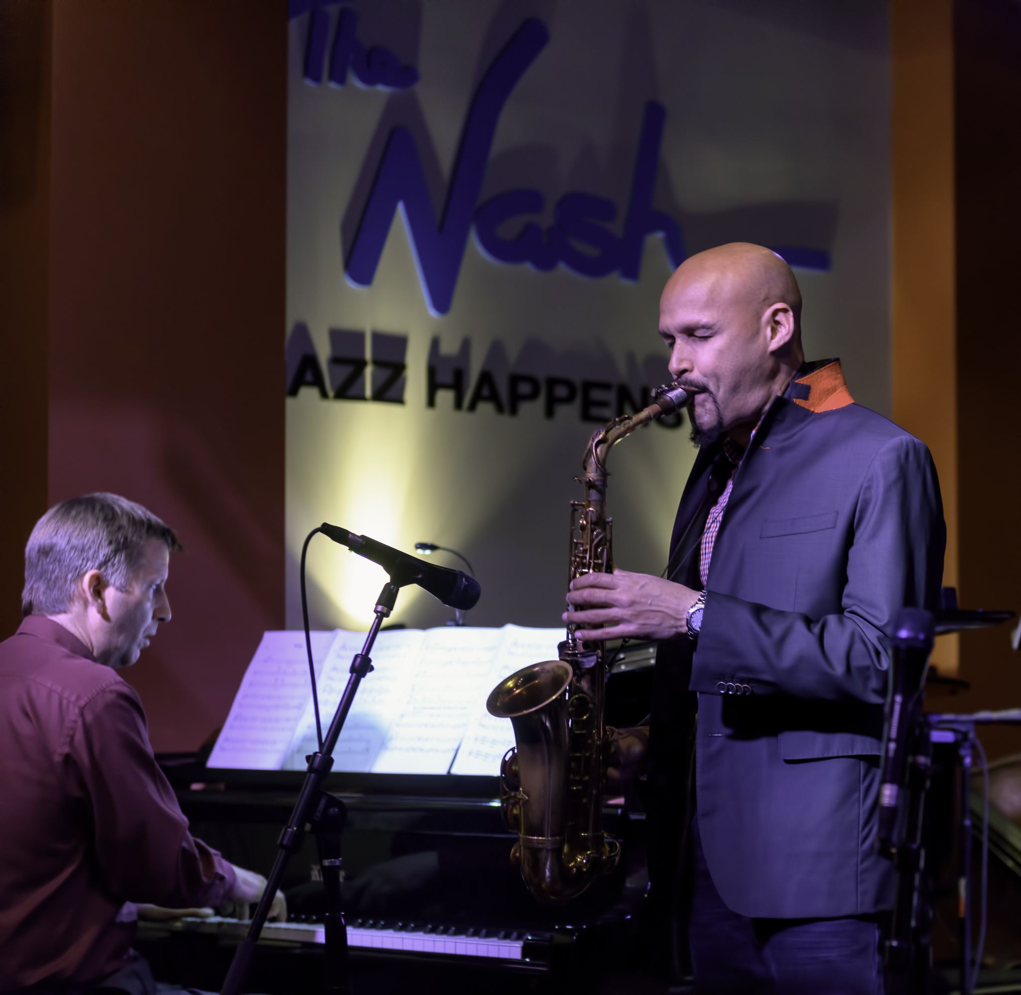 Michael Kocour And Miguel Zenon At The Nash In Phoenix