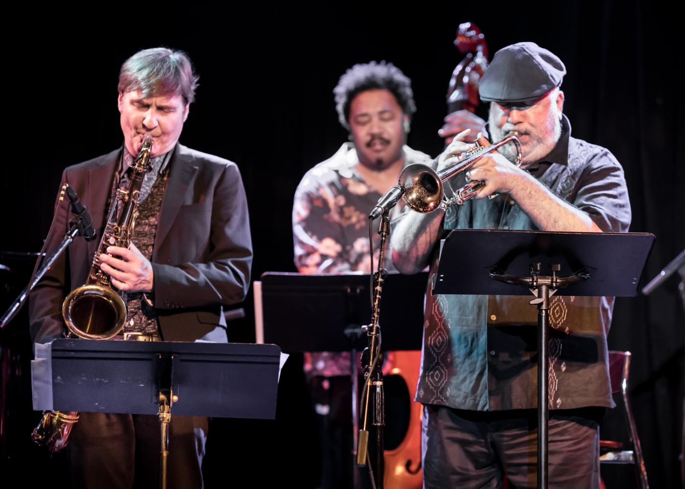 Tim Ries, James Genus, Randy Brecker