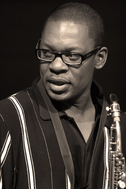Ravi Coltrane at the New Orleans Jazz and Heritage Festival 2005